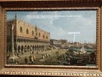 'Venice: The Doge's Palace and the Riva degli Schiavoni' by Canaletto - National Gallery, London