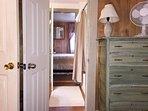 Both bedrooms have bathroom access