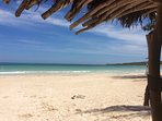 Burwood beach, one of the most beautiful beaches in Jamaica is just 10 minutes away