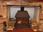 Who doesn't love coming home to a cosy log fire.