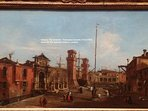 'Venice: The Arsenal by Francesco Guardi' - the National Gallery, London