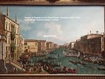 'Venice: A Regatta on the Grand Canal' by Canaletto - National Gallery, London