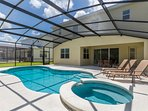 Beautiful Vacation Home near Disney World Orlando Florida, come with family and get the best deal.
