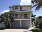Spacious Key West style multi-level home with private pool