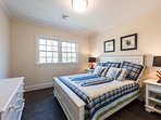 2nd Level Guest Bedroom shares hall bath