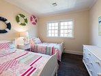 2nd Level Bedroom shares hall bath