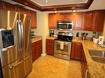 Remodeled kitchen, LED lighting w/ filtered water and stainless steel appliances.