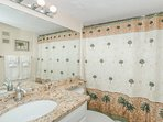 Second Bathroom with Bath Tub