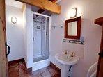 The ground floor shower room