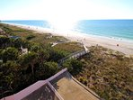 View looking south from the 5th floor Reef Club toward Indian Shores Redington.