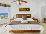 Ocean View Master Bedroom #1 with King Bed