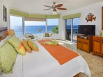 Ocean View Master Bedroom #2 with King Bed