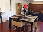 Wenge dining table for 8