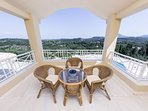 Master Bedroom's Balcony With View