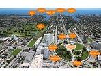 Hollywood Downtown και Παραλίες Χάρτης