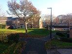 quiet residential area near Bristol