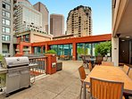 Stay Alfred Seattle Vacation Rentals Community Patio