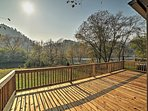 NEW! Peaceful 2BR Reliance Cabin w/River Views!