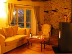 Autumn colours, country walks, charming, cosy cottage, nr Dinan, St Malo
