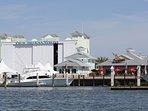 Umbrella,Boat,Watercraft,Building,Harbor