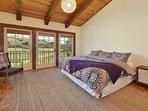 Hacienda Master Bedroom w/ King Bed - Polo Field View