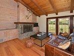 Hacienda Living Room w/Fireplace