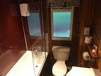 Calltainn - Bathroom with Bath and Electric Shower