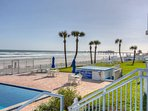 Just a short walking distance to the Sunglow Pier featuring Crabby Joe's Restaurant and Bar.