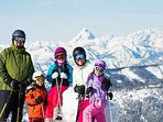 Skiing at Stevens Pass or Mission Ridge