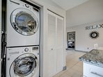 Full Size High Efficiency Washer/Dryer