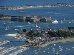 L'enceinte fortifiée de Port Louis : dernier rempart avant l'Océan