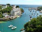 Le port de Doelan à 3 km, si typique d'une Bretagne authentique