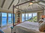 View from Master Bedroom, with private deck and views of the surrounding islands