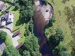Aerial View - Rashfield Sheilings