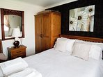 Double Bedroom with large TV