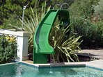 Water Slide and Diving Board Pool fun - sturdy enough for older children too!