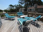 Bench,Patio,Deck,Porch,Boardwalk