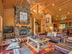 Great Room of the Aspen Meadow Lodge