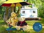 Teddy-time at Bleuet, the childrens playhouse