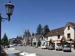 Big Bear Shopping Area