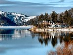 Winter over Big Bear Lake