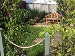 Garden with sunny aspect