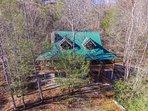 Sassafras Lodge: Hawk's view!