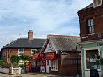 Village centre where you will find a wonderful greengrocer & butchers.