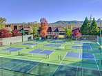 Tennis courts - just some of the great amenities in PML.