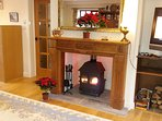 Large lounge with woodburner (free logs), widescreen tv, Sky+, wifi, underfloor heating etc.