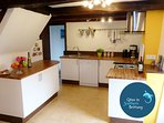 Newly refurbished modern kitchen - and fully equipped