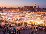Jemaa El fna ( the famous square)