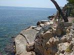 Espace-plage privé réservé aux Résidents