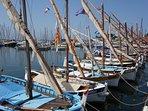 Les pointus du port de Bandol